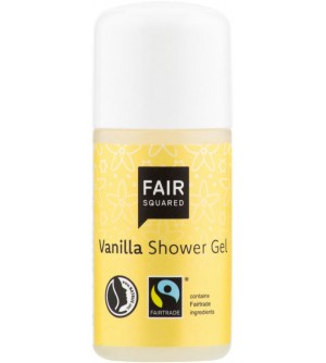 Gel sprchový s vanilkou 10 ml FAIR SQUARED