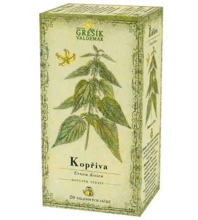Bylinný čaj Grešík Kopřiva 20 x 1 g