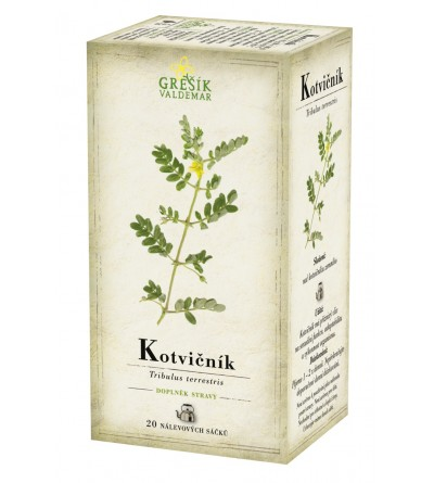 Bylinný čaj Grešík Kotvičník 20 x 1 g