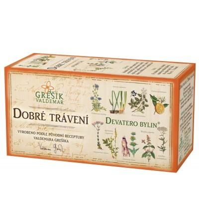 Bylinný čaj Grešík Dobré trávení 20 x 1,5 g