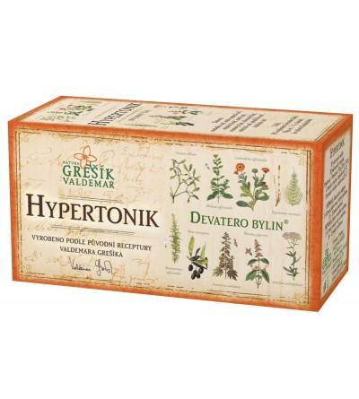 Bylinný čaj Grešík Hypertonik 20 x 1,5g