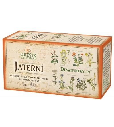 Bylinný čaj Grešík Jaterní 20 x 1,5 g