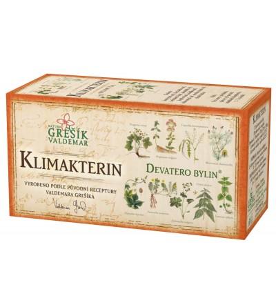 Bylinný čaj Grešík Klimakterin 20 x 1,5 g