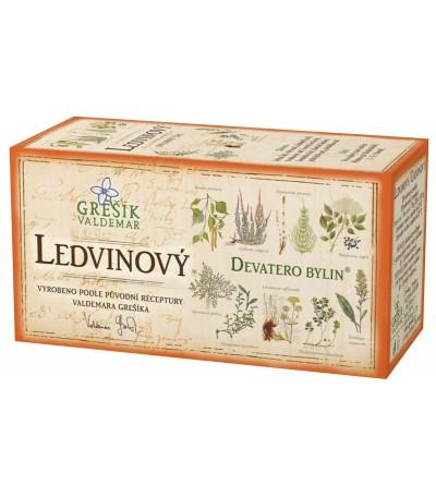 Bylinný čaj Grešík Ledvinový 20 x 1,5 g