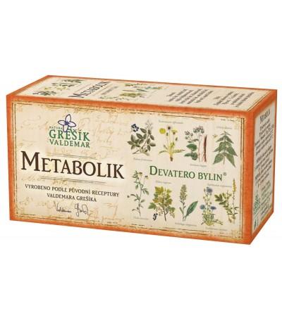 Bylinný čaj Grešík Metabolik 20 x 1,5 g