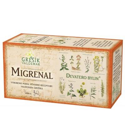 Bylinný čaj Grešík Migrenal 20 x 1,5 g