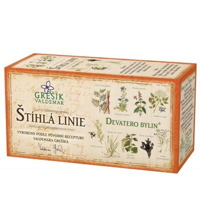 Bylinný čaj Grešík Štíhlá linie 20 x 1,5 g