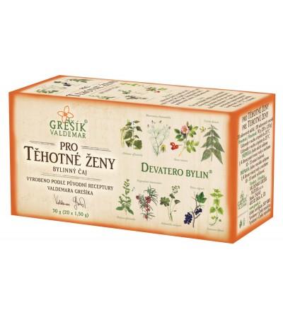 Bylinné čaje Grešík Pro těhotné ženy 20 x 1,5 g