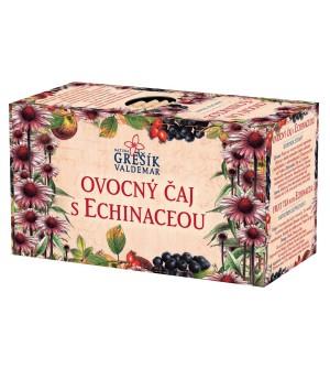 Grešík Ovocný čaj s echinaceou 20 x 1,5 g