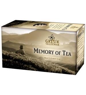 Černý čaj Grešík Memory of Tea 20 x 1,8 g