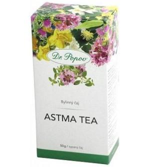 Dr. Popov Čaj astma tea (Zdravé dýchání) 50g