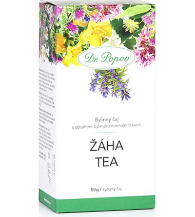 Dr. Popov Čaj žáha tea 50g