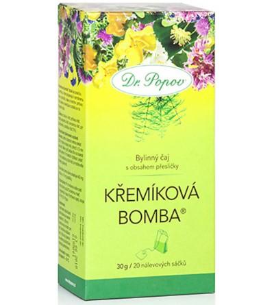 Dr. Popov Čaj Křemíková bomba® 20 x 1,5 g