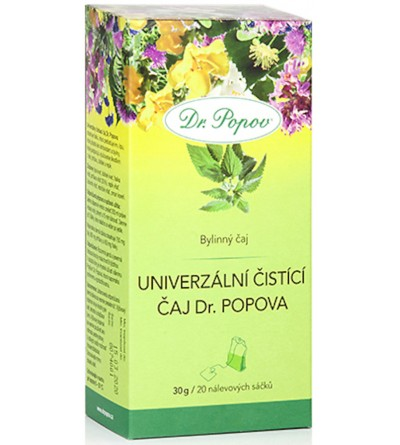 Dr. Popov Čaj Univerzální čistící 20 x 1,5 g