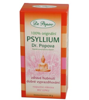 Dr. Popov Vláknina Psyllium 50 g