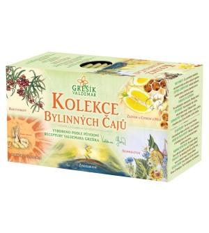 Grešík Kolekce Bylinných čajů 5 x 4 n.s.