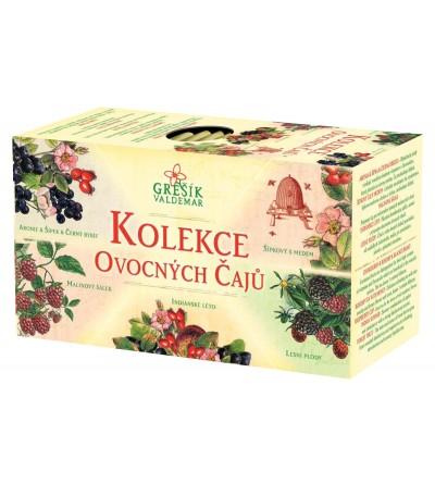 Grešík Kolekce Ovocných čajů 5 x 4 n.s.