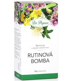 Dr. Popov čaj Rutinová bomba 50 g