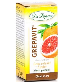 Dr. Popov GREPAVIT® – grep extrakt z jader 25 ml