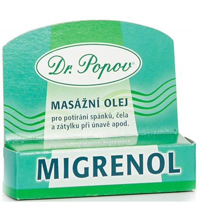 Dr. Popov Migrenol 6 ml – roll-on