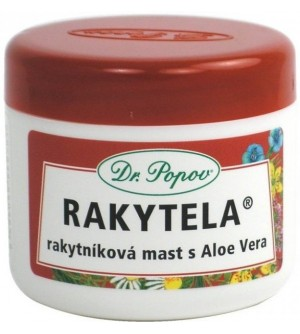 Dr. Popov Rakytníková mast s Aloe Vera – Rakytela 50 ml