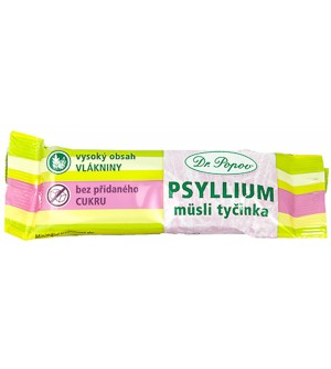 Dr. Popov PSYLLIUM müsli tyčinka Dr. Popova 40 g