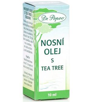 Dr. Popov Nosní olej s Tea Tree,10 ml