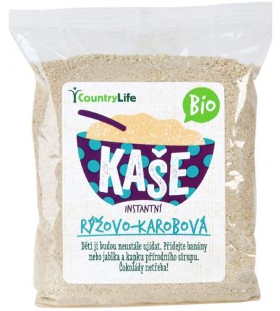 COUNTRY LIFE Kaše rýžovo-kukuřičná s karobem 200 g BIO