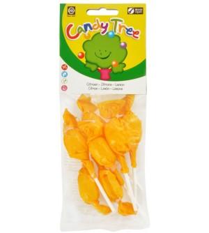 CANDY TREE Lízátko s příchutí citronu bezlepkové 10 g BIO