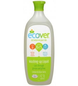 ECOVER Prostředek na nádobí s aloe a citrónem 1 l