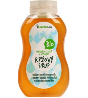 COUNTRY LIFE Sirup rýžový 250 ml BIO