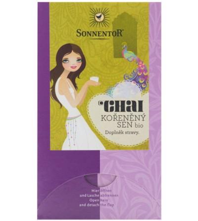 SONNENTOR Čaj Chai kořeněný sen 36 g BIO