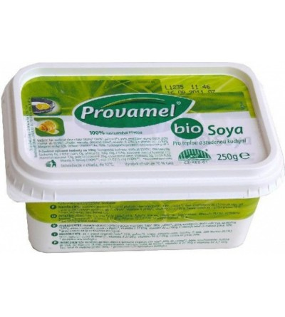 PROVAMEL Soya margarine bio pro teplou a studenou kuchyni 250g