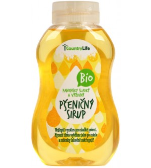 COUNTRY LIFE Sirup pšeničný 250 ml BIO