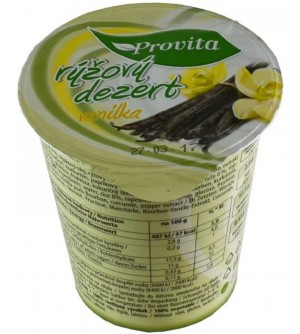 PROVITA Dezert rýžový vanilka 150 g