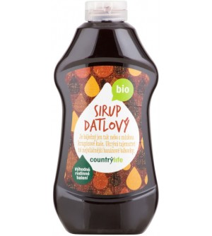 COUNTRY LIFE Sirup datlový 900 ml BIO