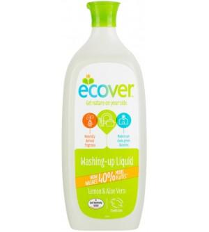 ECOVER přípravek na mytí nádobí s aloe a citronem 950 ml