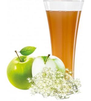 OVOCŇÁK mošt jablko - bezový květ 200 ml
