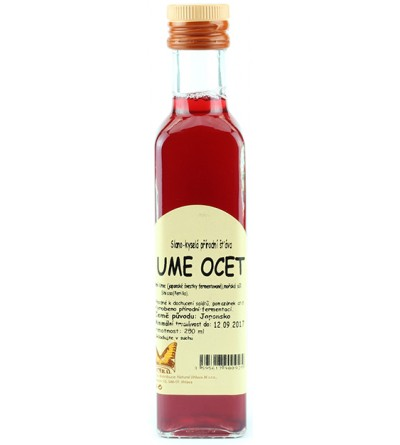 NATURAL JIHLAVA Ume ocet 250 ml