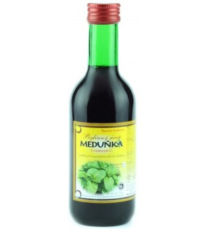 NATURAL JIHLAVA Bylinkový sirup meduňka Klášterní officína 250 ml