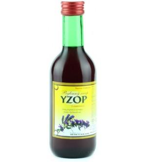 NATURAL JIHLAVA Bylinkový sirup yzop Klášterní officína 250 ml