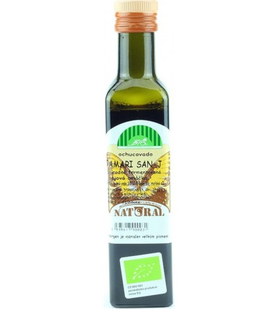 NATURAL JIHLAVA Tamari san-J BIO bezlepkové Natural 220 ml