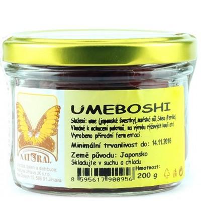 NATURAL JIHLAVA Umeboshi 200 g
