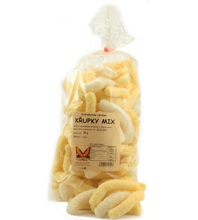 NATURAL JIHLAVA Křupky mix kukuřičné a rýžové 75 g