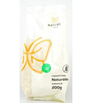 NATURAL JIHLAVA Naturálka kaštanová bezlepková instantní kaše 200 g