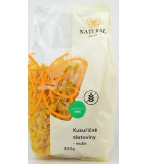 NATURAL JIHLAVA Kukuřičné těstoviny mušle 300 g