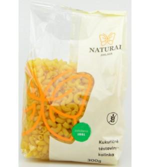 NATURAL JIHLAVA Kukuřičné těstoviny kolínka 300 g