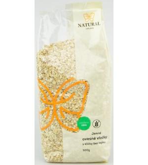 NATURAL JIHLAVA Ovesné vločky jemné bez lepku 500 g