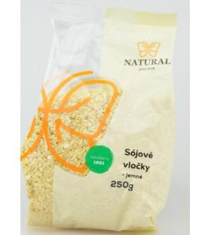 NATURAL JIHLAVA Sójové vločky jemné 250 g