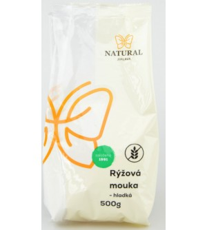NATURAL JIHLAVA Rýžová mouka hladká 500 g